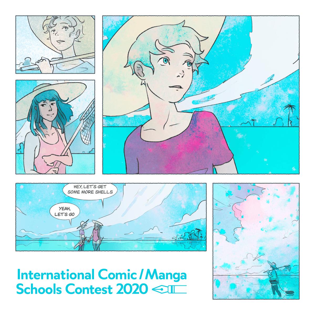 Примите участие в Международном конкурсе комиксов и школ манга 2020! International Comic/Manga Schools Contest 2020. Магазин Wacom в Минске